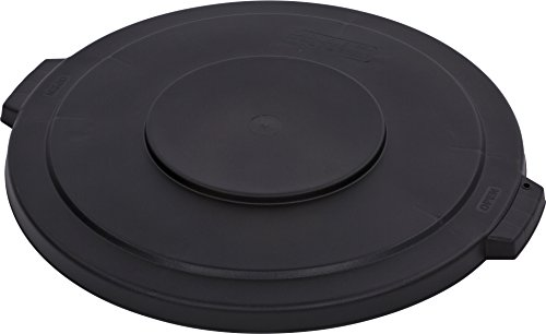 Carlisle 34103303 Bronco Round Waste Container Lid, 32 gal, Black