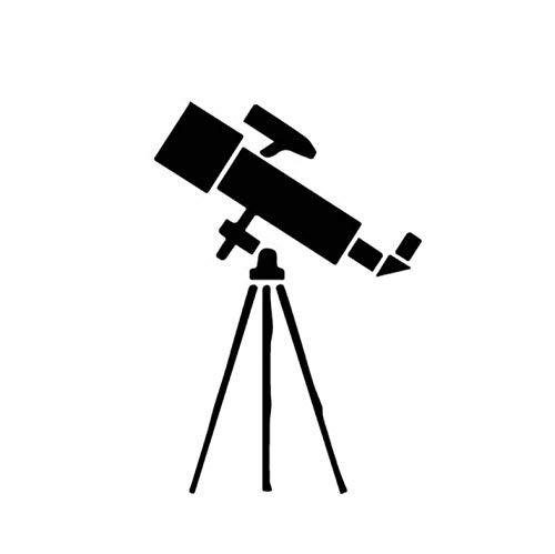 Pzmolpq Pegatinas Coche 10CM * 14.7CM Pantalla Telescopio