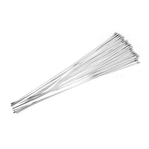 Metal de 4,6 * 450 mm para sujetar, envolver tuberías, cables, postes...