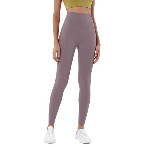QTJY Pantalones de Yoga Delgados sexys para Mujer, Push-ups, Celulitis, Fitness, Cintura Alta, Levantamiento de Cadera, Pantalones Deportivos, Pantalones para Correr al Aire Libre, F M