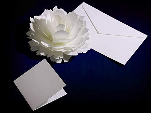 PAPERANDARTS『咲くようにひらく花のポップアップサンキューカード(ピオニー)』