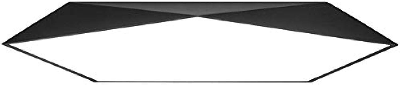 WWDDVH Ultradünne Geometrische Led Deckenleuchte Moderne Einfache Schlafzimmer Lampe Wohnzimmer Lampen Eisen Kunst Studio Beleuchtung 40Cm Weies Licht