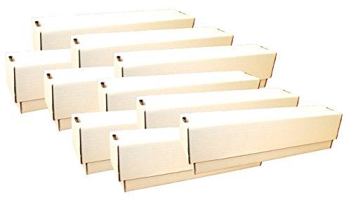 collect-it Unbekannt 10 Riesen Deck-Boxen - Aufbewahrung (weiß) für ca. 10.000 Karten Aller Größen