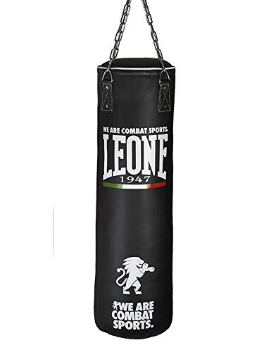 Leone 1947 Saco de boxeo para adultos, unisex, Unisex adulto, Basic, negro