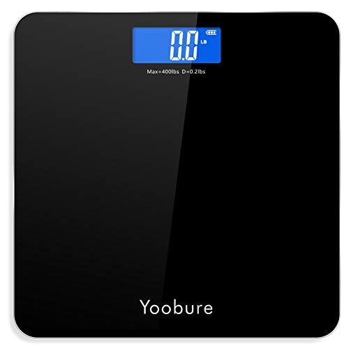 Best Price Weight Scale, Precision Digital Body Bathroom Scale with Step-On Technology, 6mm Tempered...