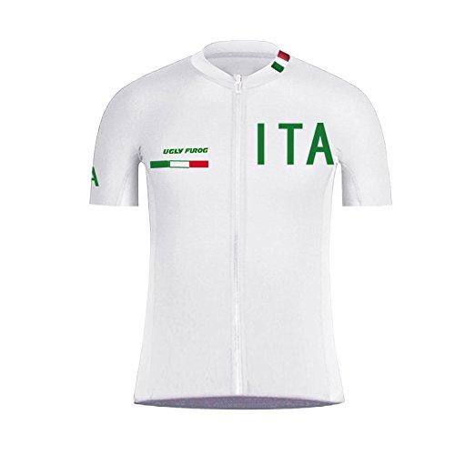 Uglyfrog Uomo Sport e Tempo Libero Abbigliamento Ciclismo Magliette Manica Corta 44 Colors DXC13