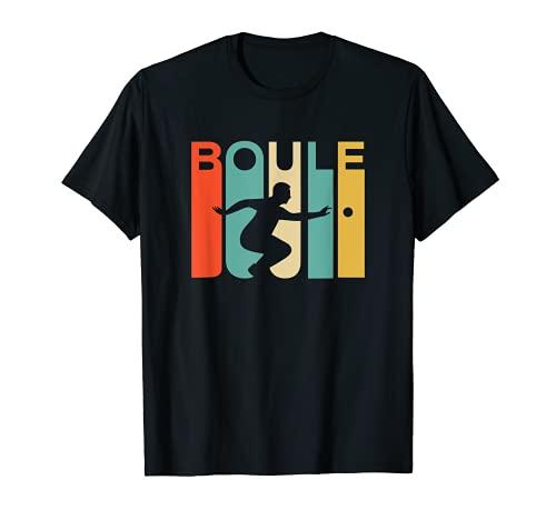 Vintage Retro Boule Sport T-Shirt T-Shirt