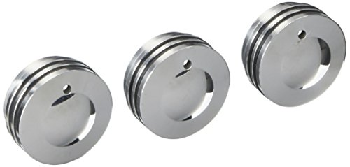 All Sales 3400R Interior Dash Knobs with O-Ring for Jeep