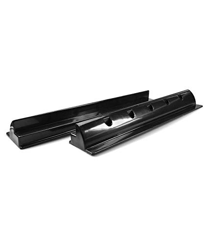 enjoysolar® ABS Haltespoiler Solarmodul Halterung sepzial für Wohnmobile Caraven Boot (2er Set Haltespoiler 550mm black)