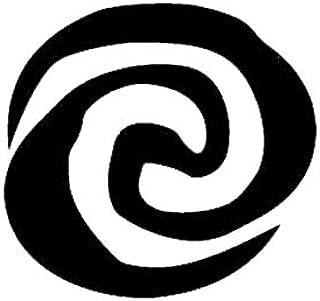 Creative Concept Ideas Swirl Pacific Ocean Meaning Moana CCI Decal Vinyl Sticker|Cars Trucks Vans Walls Laptop|Black|5.5 x 5.25in|CCI2241