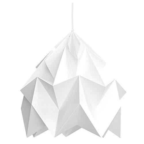 Suspension Origami Moth Blanche XL Diam 40 cm Snowpuppe