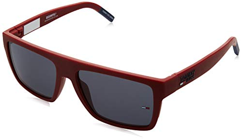 Tommy Hilfiger TJ 0004/S gafas de sol, ROJO MATE, 56 Unisex Adulto