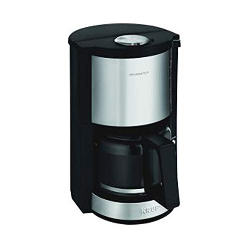 Krups KM3210 + Isolierkanne Emsa Samba Filter-Kaffeemaschine 1100 Watt 1,25 L