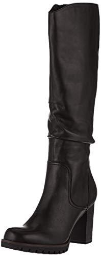 MARCO TOZZI Damen 2-2-25631-23 Hohe Stiefel, Schwarz (Black Antic 002), 37 EU