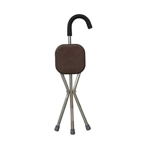 L-Y Silla de Ruedas, Walker rotan kruk vierpoots vouwen multifunctionele rotan stoel Body Engineering non-lip ontwerp oude man wandelstok is gemakkelijk te dragen