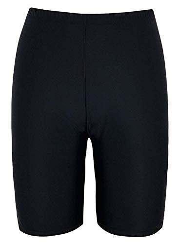 Avellara Badeshorts Badehose Damen Lang Schwimmshorts Schwimmhose Boardshorts UV Schutz Bade Hotpant