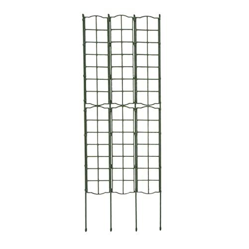 LOPADE Treliça de escalada de plantas, treliça de jardim, treliça de plástico, treliça de treliça de suporte de folhas de videira, estacas de suporte de plantas para escaladas, plantas, vinhas, vegetais, método
