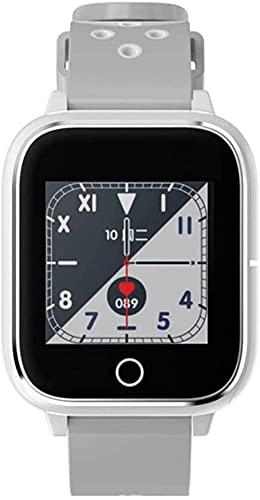 NCHEOI SmartWatch Smart Watch 1 Pantalla táctil de Alta definición de 4 Pulgadas Two-One Smart Bluetooth Llamada Reloj con Pulsera y Auricular Pulsera Deportiva Multifuncional para Android y