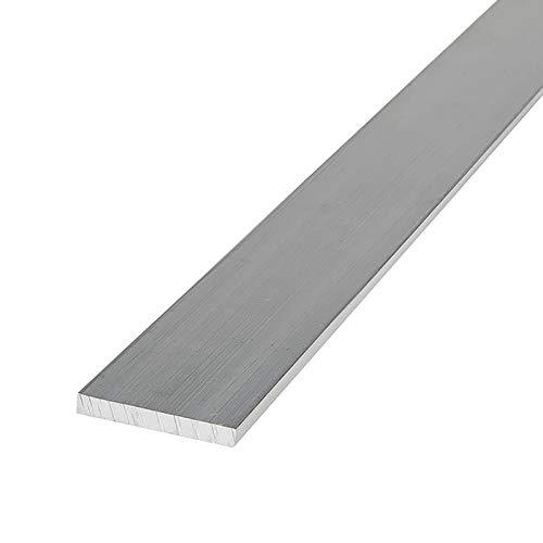 SHOUCAN Barra Plana De Acero Inoxidable 304 Longitud 500 mm Espesor 5 mm Ancho 10-50 mm Barra Plana Sólida Buena Estabilidad,5×50×500mm