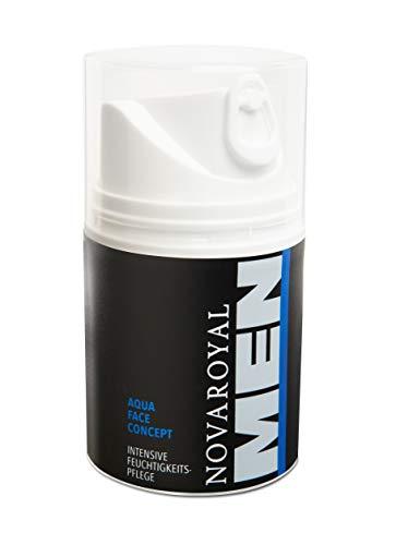 NOVAROYAL MEN® Soin anti-âge pour homme | Multifonctionnel : réduit les rides, hydrate intensément et revitalise la peau | avec des principes actifs de haute technologie primés.