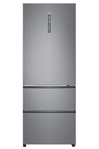 Haier A3FE742CMJ, Frigorifero con congelatore a cassetti, 70 cm, Libera Installazione, ABT trattamento antibatterico