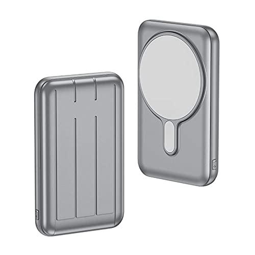 Banco de energía inalámbrico magnético CARGA RÁPIDA 5000/10000 MAH Cargador portátil Paquete de energía de carga rápida Paquete de batería externa Compacto de copia de seguridad de la fuente de alimen