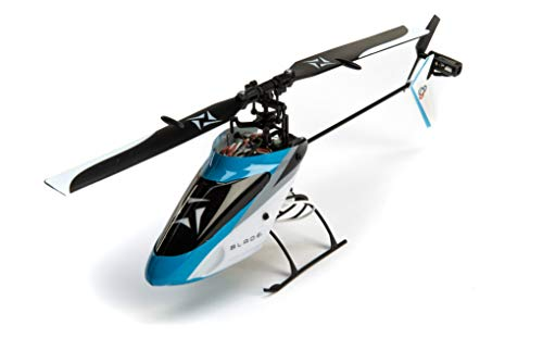 Blade Nano S2 Ultra Micro RC Helicopter RTF with SAFE Technology (Includes 2.4GHz 6-Ch DSMX Transmitter, 150mAh 1S LiPo Battery, USB Charger), BLH1300,Blue