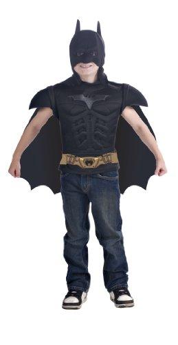 Rubie's-déguisement officiel - Batman - Costume Plastron Luxe 3d - Taille 5-7 ans- I-885100