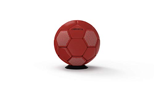 CORSECA Orb Football Portable Bluetooth Wireless Sports Speaker (20W, Red)