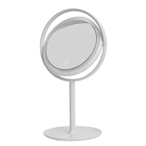 JALAL Espejos baño, tocador Espejo Maquillaje Shabby Chic Espejo Pared Espejo granestilo Vintage Rectángulo Enmarcado para Sala Estar Pasillo Espejo Colgante