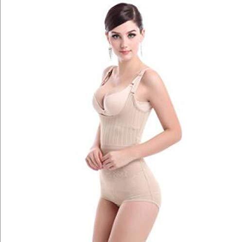 Dthlay Ceinture Lombaire Femmes Shaper correctif sous-vêtements Minceur sous-vêtements Taille Formateur Body Shaper Corset Shapewear contrôle du Ventre Minceur Pantalon-Skin_XS