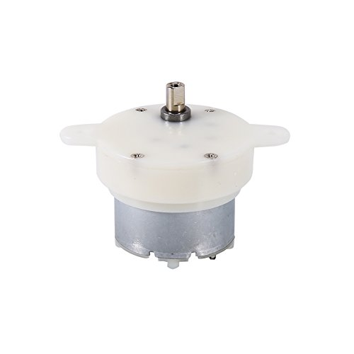 Great Features Of ROSEBEAR High Torque 12v DC Motor Slow Speed Electric Motor/Gearbox 3RPM 4mm Shaft...
