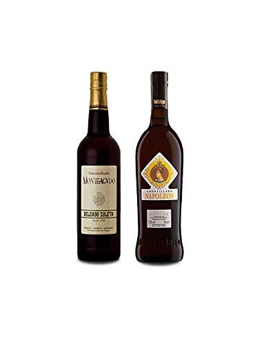 Vino Amontillado Monteagudo de 75 cl y Vino Amontillado Napoleon de 75 cl - Mezclanza Exclusiva