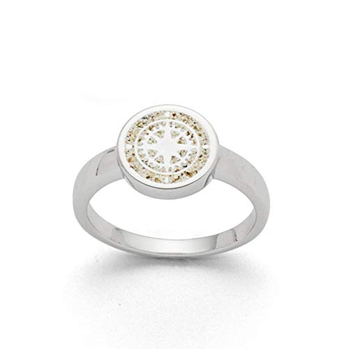 "DUR Damen Ring\""Kompass\"" aus 925er Silber Größe 54 (17.2) R5157.54, 54 (17.2)"