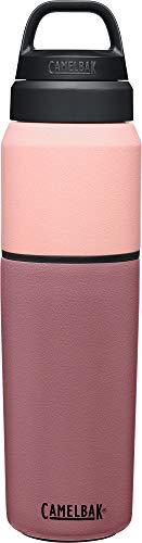 Camelbak Multibev Sst Vacuum - Botella de agua unisex para adultos, color terracota rosa/rosa, 650 ml
