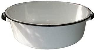 Granite Ware Dish Pan with Handles, 15-Quart