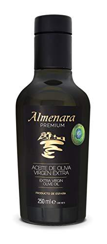 Almenara - Aceite de Oliva Virgen Extra Premium en Botella de Cristal 250 ML