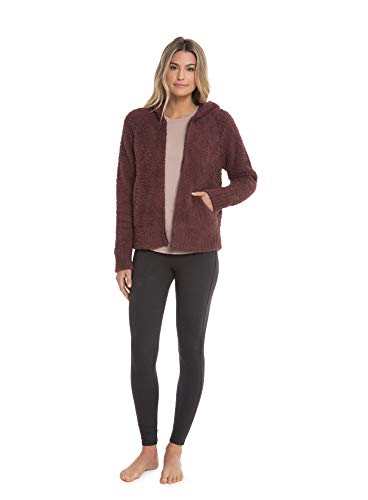 Barefoot Dreams CozyChic Women's Relaxed Zip-Up Hoodie w/Pockets, Fall Jacket