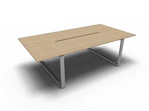 Bralco Konferenztisch Loopy für 8 Personen, Besprechungstisch, Seminartisch Hochwertige Büromöbel