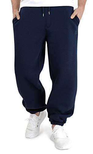 BACKSPIN Sportswear - Jogginghose Basic Farbe Marine Blau, Größe 5XL