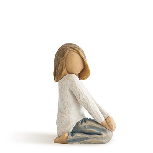 Willow Tree 26223 Figur Froehliches Kind, 5,1 x 3,8 x 7,6 cm