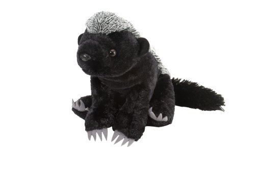 Wild Republic Honey Badger Plush, Stuffed Animal, Plush Toy, Gifts for Kids, Cuddlekins 12 Inches