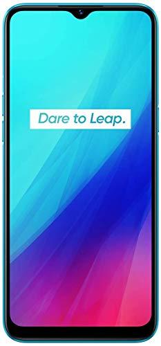 "Realme C3 - Smartphone de 6.5"" LCD multi-touch, 2 GB RAM + 32 GB ROM, Procesador Helio G70 OctaCore, Batería de 5000mAh, Cámara Dual AI 12MP, Dual Sim, azul"