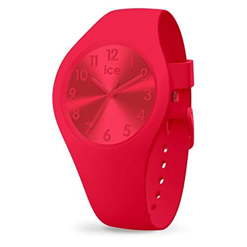 Ice-Watch - ICE colour Lipstick - Rote Damenuhr mit Silikonarmband - 017916 (Small)