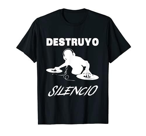 Camisa de DJ de música divertida - Destruyo el regalo del si Camiseta