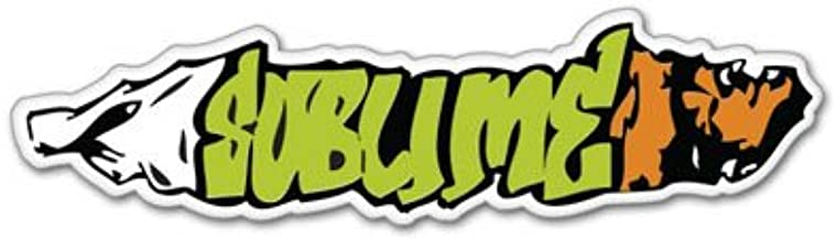 Select Size Sublime ska punk joint Vynil Car Sticker Decal