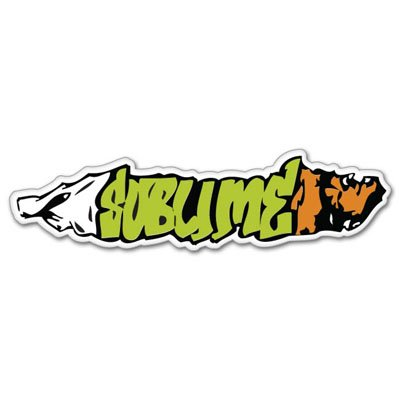 Sublime ska Punk Joint Vynil Car Sticker Decal - Select Size