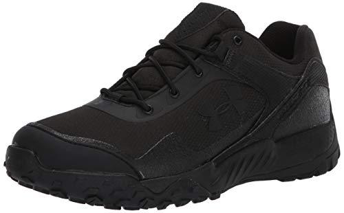 Under Armour Women's Valsetz RTS 1.5 Low Running Shoe, Black (001)/Black, 10 M US