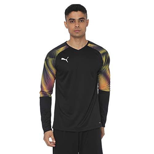 Puma Herren Cup GK Jersey LS Torwarttrikot, Black-Fuchsia Purple, M