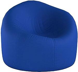 Posh Beanbags AMZ-35-BLU Bean Bag Chair, 35in, Z - Solid: Royal Blue